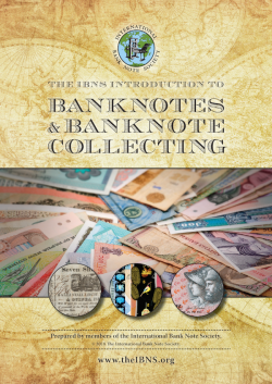 Introduction to Banknotes and Banknote Collecting